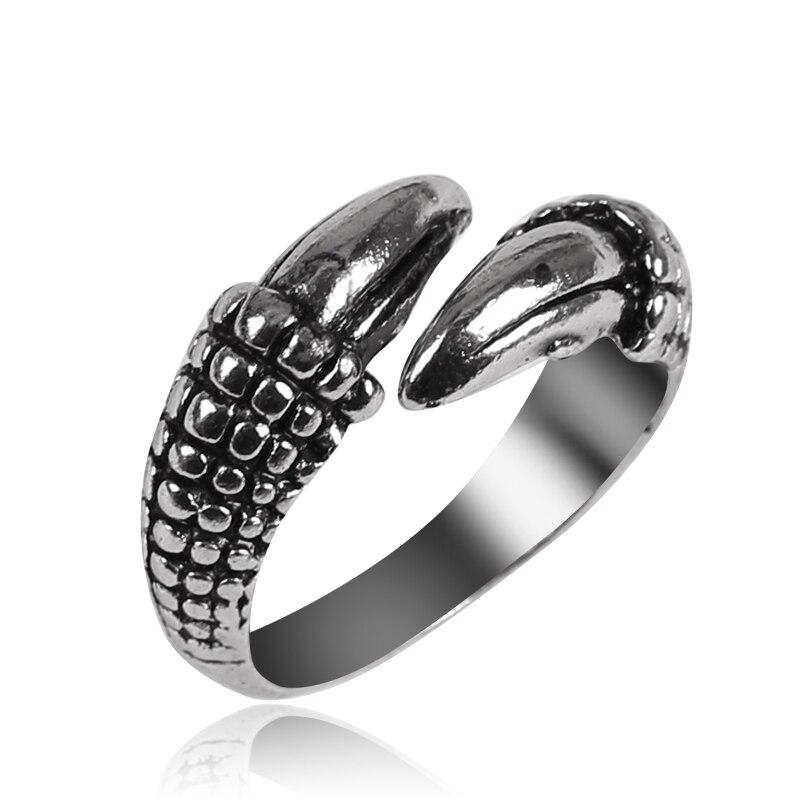 Retro Simple Dragon Claw aleación anillo masculino Tide Punk anillo dominante exagerada cola anillo joyería regalo 2020 nuevo