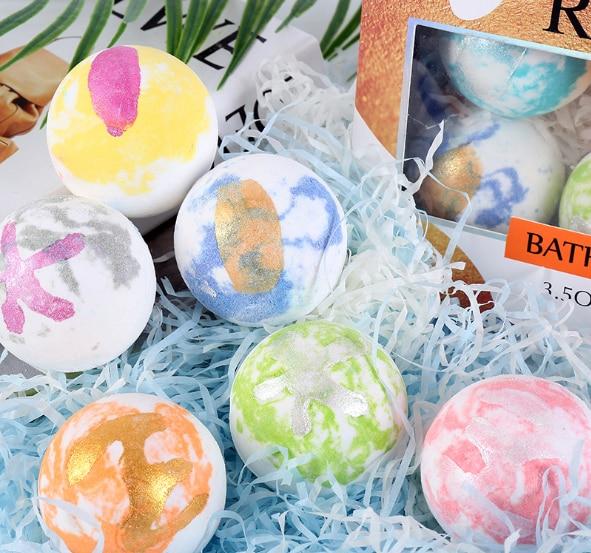 Новый набор солевых шариков для ванны, солевые шарики для ванны, солевые шарики для ванны, милая банка для ванны, соль для ванны, морская соль...