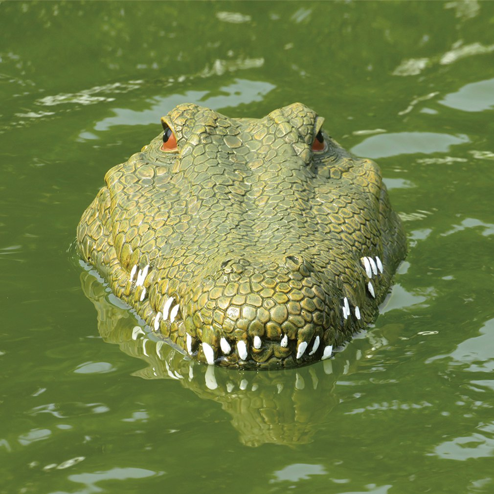 Flytec RC faux Crocodile télécommande bateau de course Halloween blague fabricant amusant nouveauté Simulation électrique étanche Spoof jouet