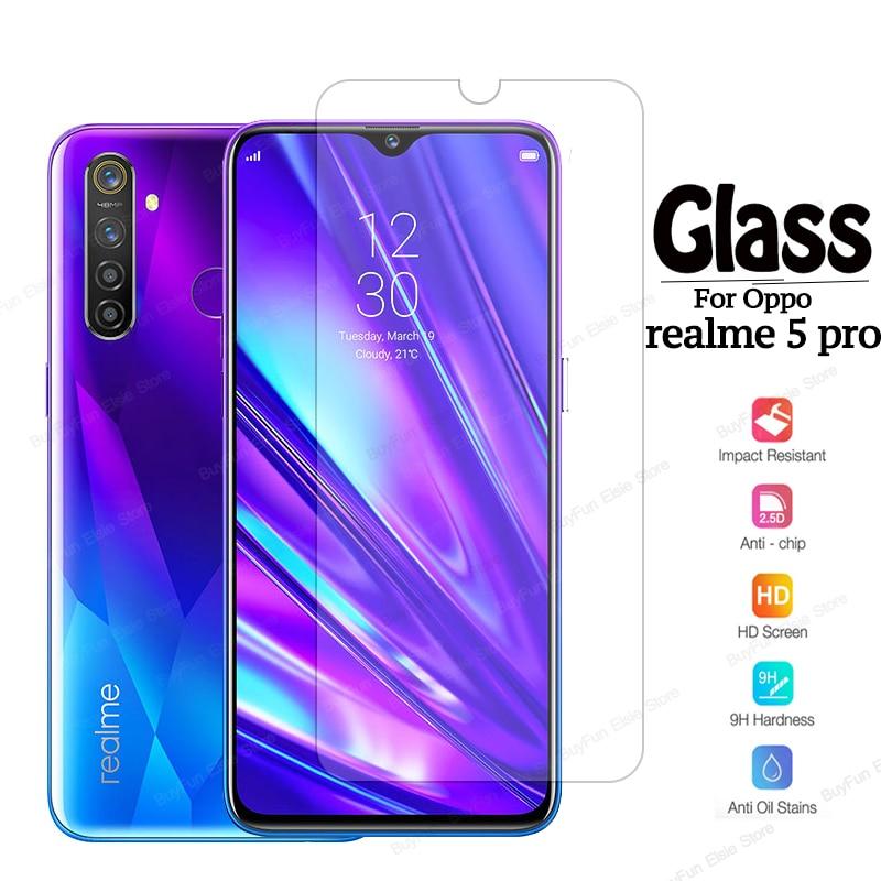 Vidrio Protector para oppo realme 5 pro, Protector de pantalla Premium en real me 5 5pro x50 pro x 50 x50pro, película protectora de vidrio templado