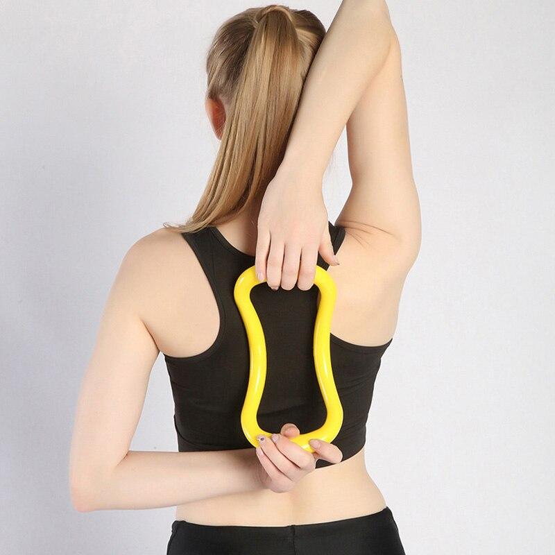 Yoga Ring Yoga Circle Shoulder Opener Shoulder Opener Beauty Back Skinny Shoulder Magic Stretch Lasten Pilates Fitness Equipment