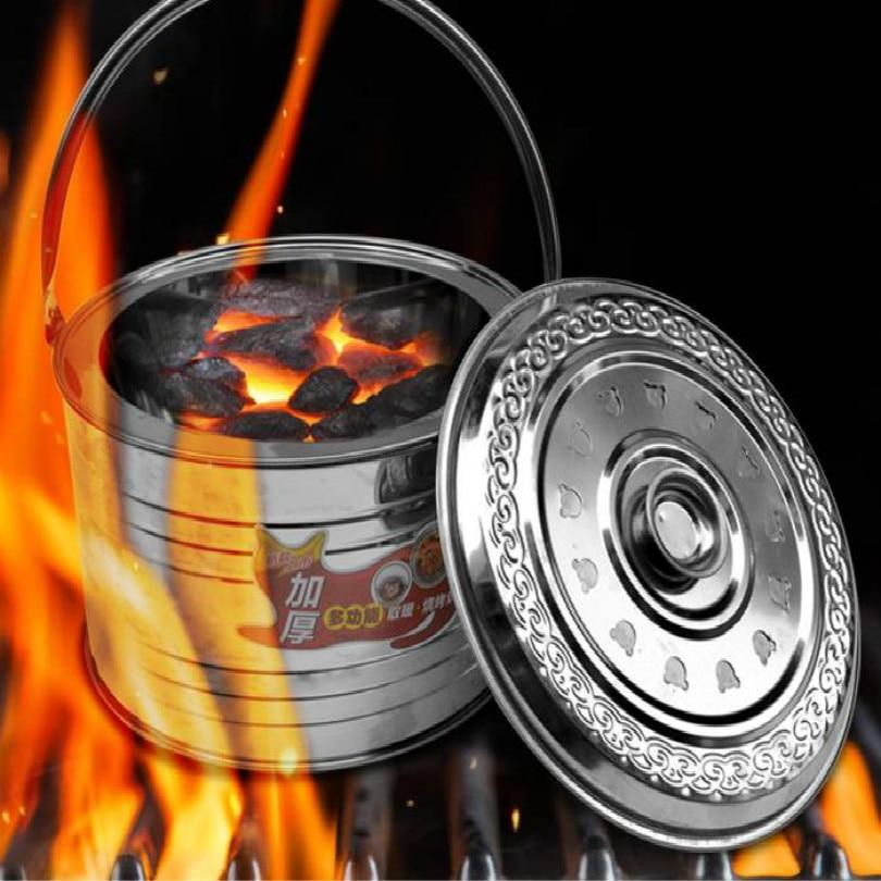 Foso de fuego para patio trasero de 32CM de diámetro, foso de fuego para exteriores, chimenea portátil para jardín, envío gratis