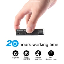 20 Hours Video Recording Mini Camera sport DV  Video and Audio Recorder Mini Camcorder support Motio
