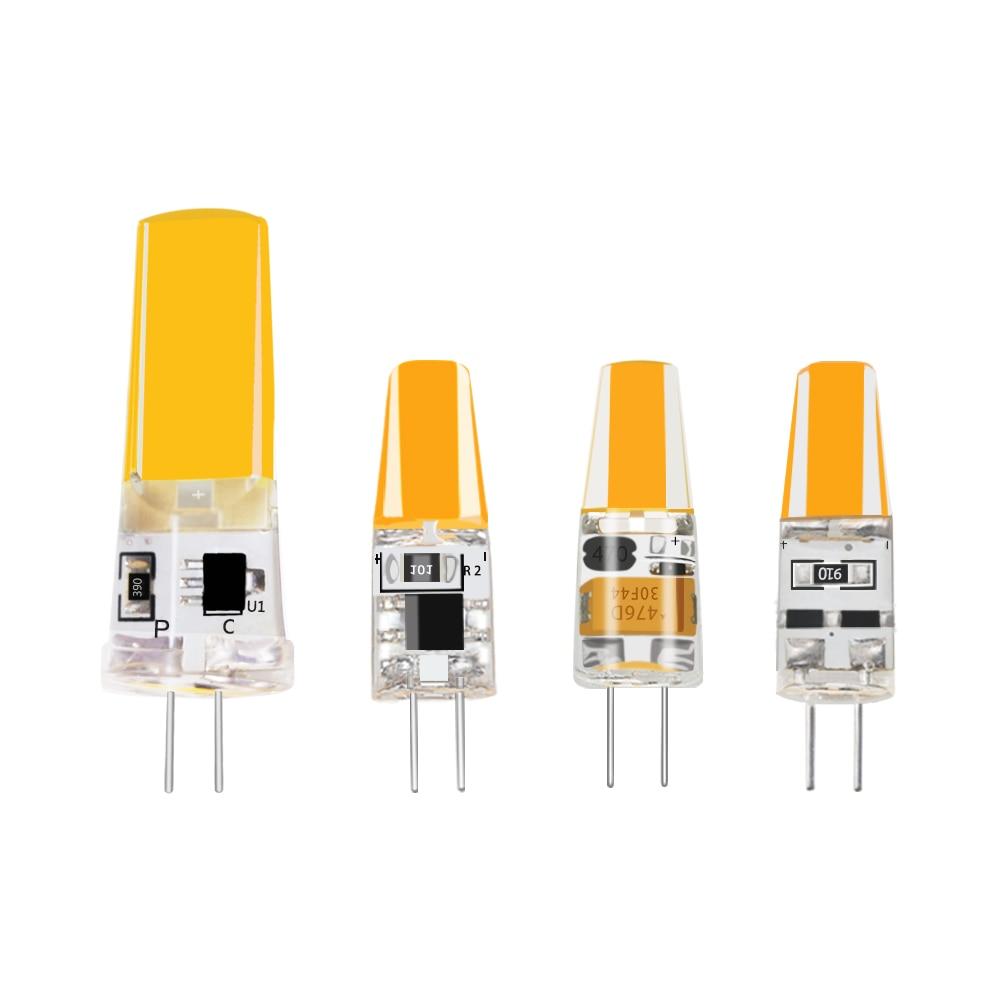 G4 G9 Mini bombilla LED CA/CC 12V 220V 10W 20W 35W 50W COB reemplazar luces LED halógenas