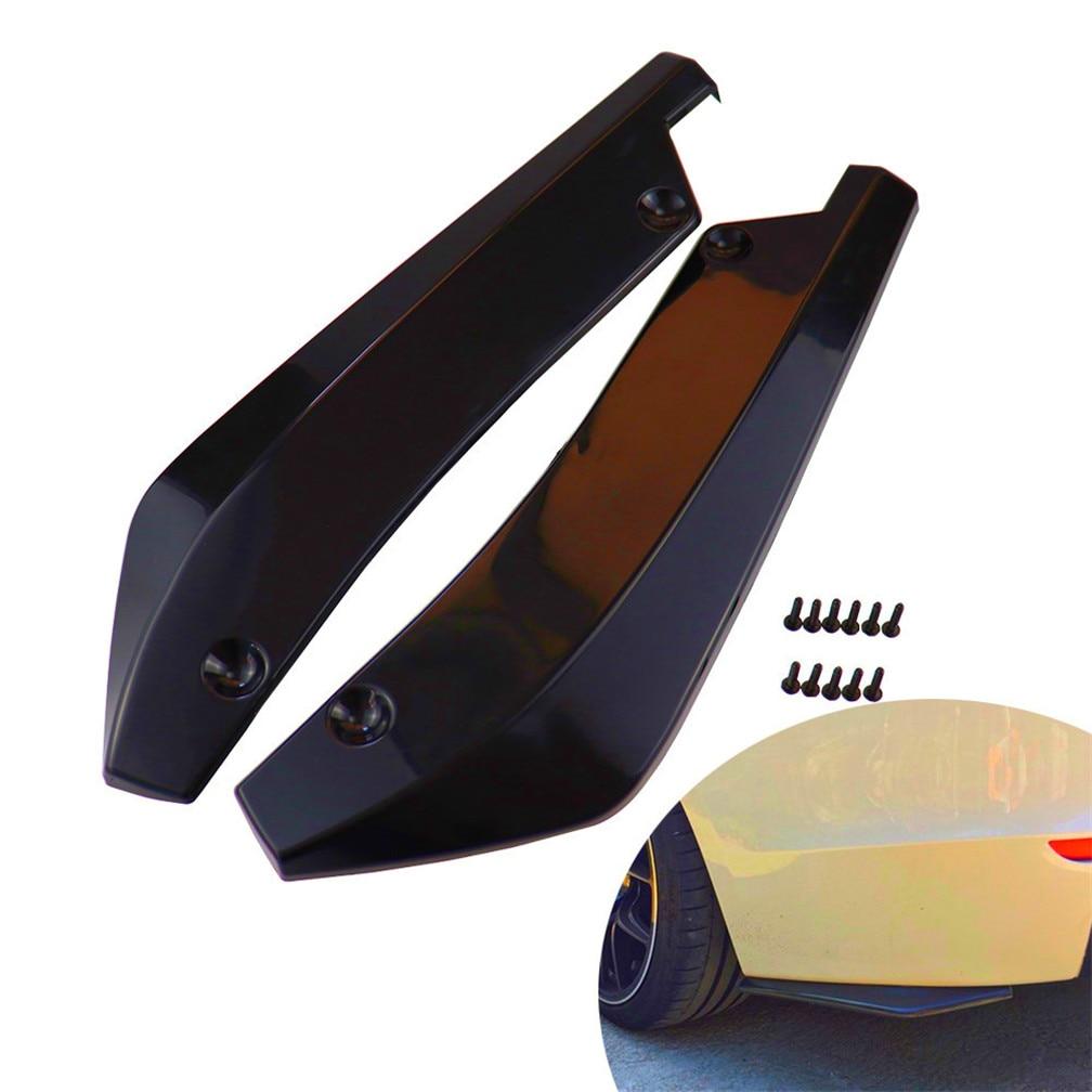 Carro pára-choques difusor protetor de ângulo capa para mercedes benz w211 w203 w204 w210 w124 amg w202 cla w212 w220 clk63 r f700