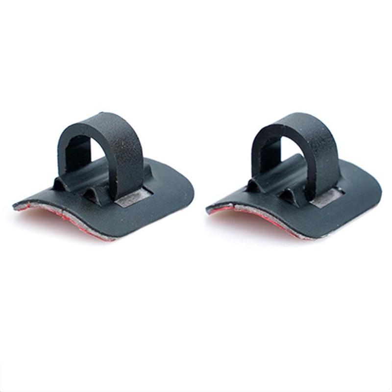 2 pçs linha de cabo organizador fivela cabo gravata fivela para xiaomi mijia m365 scooter elétrico skate acessórios