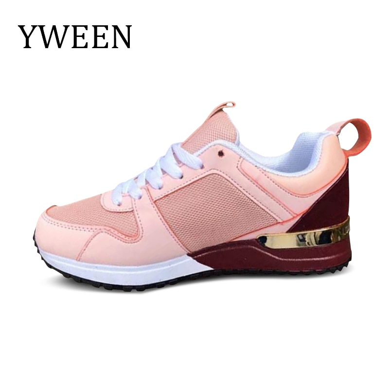 casual shoes for women flat shoes for women fisherman shoes for women canvas shoes for comfortable driving shoes footwear YWEEN 2021 New Women Sneakers  Lightweight ladies  Casual Shoes Women Trainers Comfortable Do Sport Shoes Plus Shoes For Women