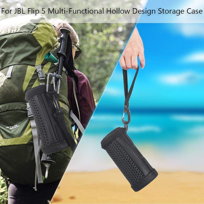 Funda protectora rígida de malla hueca para Flip4 Flip 5 Altavoz Bluetooth impermeable