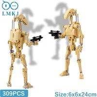 moc star movie battle robot anime figures building blocks diy federation robot fighter model bricks diy toys for children gifts