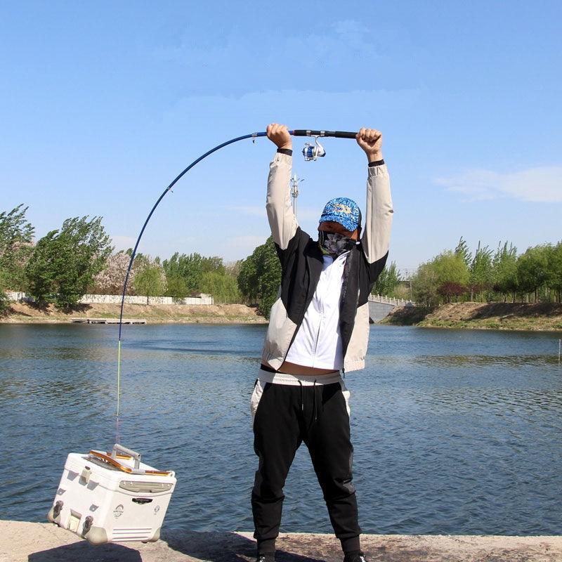 PODAGA 1.8M -3.6M Carp Fishing Rod feeder Super Hard FRP Carbon Fiber Telescopic Fishing Rods fishing pole travel Sea rod