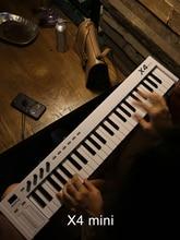 88 key X8 X6 music arranger 49 37 25 counterweight portable 61 key MIDI keyboard