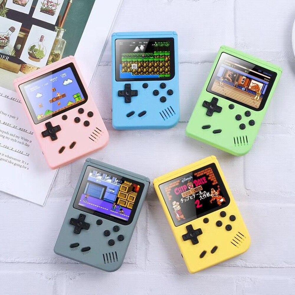 500 em 1 jogos mini portátil retro console de vídeo handheld jogadores do jogo menino 8 bit 3.0 Polegada tela lcd a cores gameboy