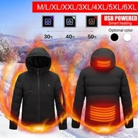 heating clothing jacket heating cotton clothing usb heating three speed thermostat mens cotton clothing jacket fast delivery