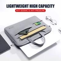laptop bag 13 3 15 6 14 inch waterproof notebook bag sleeve for macbook air pro 13 15 computer shoulder handbag briefcase bag