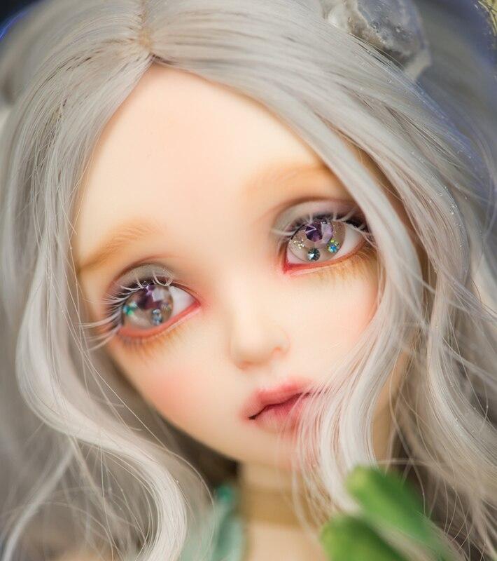 Muñeca BJD 1/4, muñecas EVa SD, maquillaje DIY, articulación de bola móvil, colección de muñecos para niña, juego completo, regalo de moda, juguetes para niñas