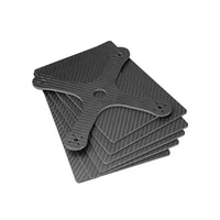 hobby carbon 2 5x400x500mm free shipping twill matte carbon glass platesheet with fiber plate for rc productshelicopter 1pc