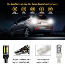 Ampoule à volant de voiture 921 T15 W16W   Décodage Super lumineux, lumière de Signal inversé sans erreur, lampe de virage t16w, 1200LM