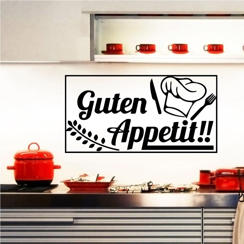 Utensílios de cozinha criativa adesivos de parede acessórios de decoração para casa adesivos de vinil decoração de festa de casa papel de parede