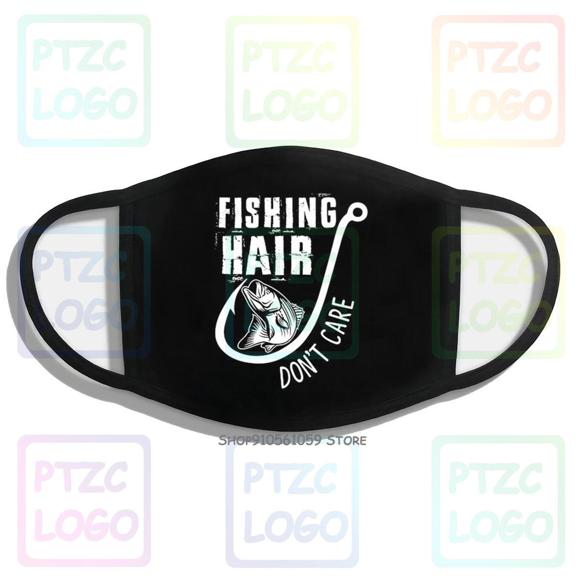 Fishing Hair DonT Care Mouth Face Mask