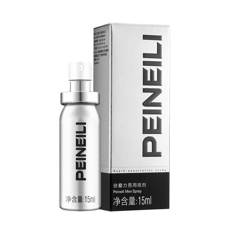Peineili мужской секс-Спрей Бесплатная доставка возбудитель для женщин продлевает сексуальную Анальная смазка для мастурбации секс-наружное использование