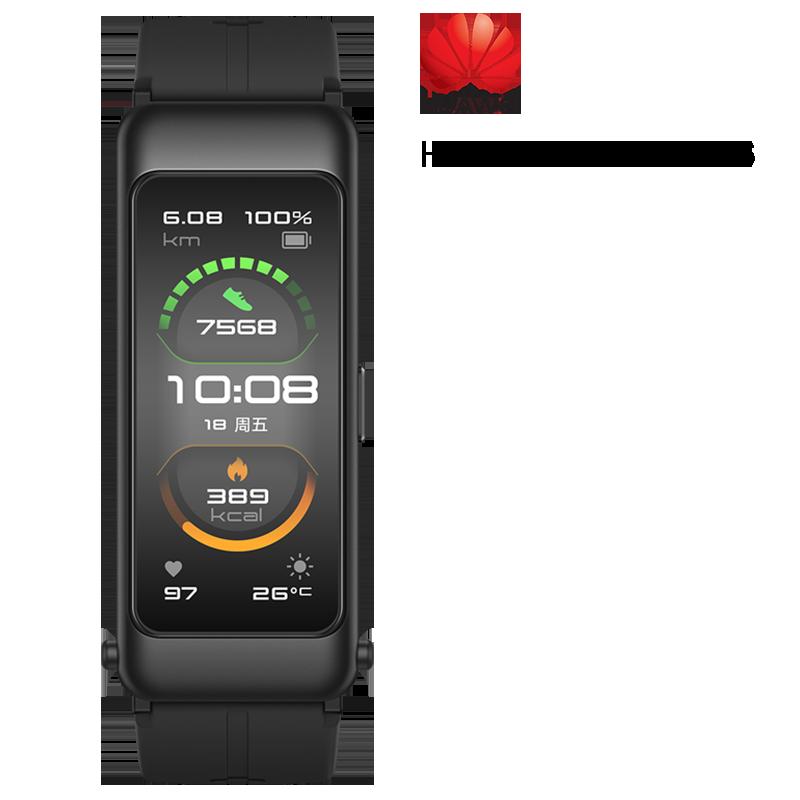 Review 99% NEW Huawei TalkBand B6 Talk Band B6 width Bluetooth Smart Bracelet Sports Wristbands Touch AMOLED Screen Call Earphone Band