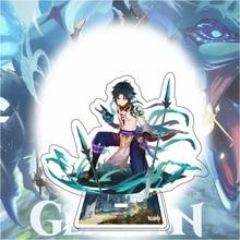 Genshin Impact Xiao Tartaglia Cosplay personaggio Stand accessori Kawaii per ragazzi ragazze collezioni regali