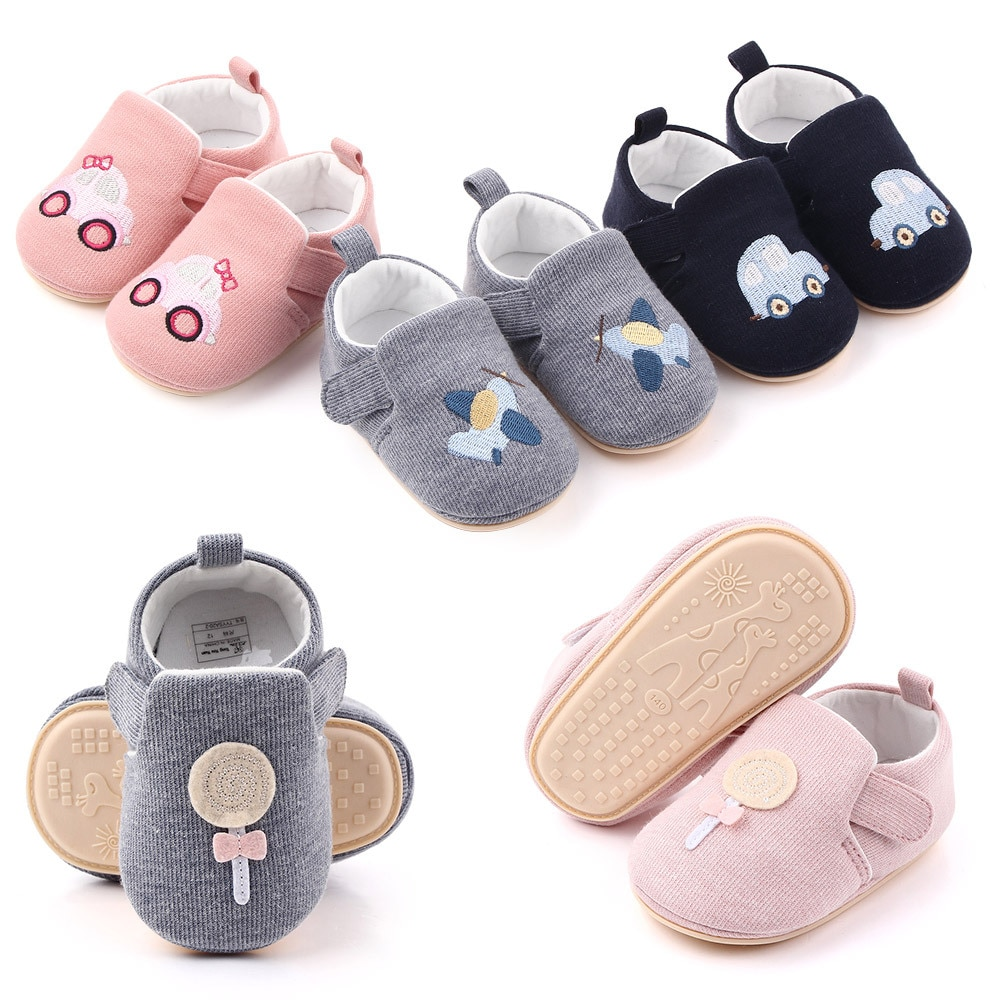 2018 spring autum new infant sports baby boy shoes of children 1 3 years toddler soft bottom hook Autumn New Baby Shoes 0-1 Years Old Men and Women Baby Shoes Spring and Autumn Soft Bottom Toddler Shoes Wholesale 2428