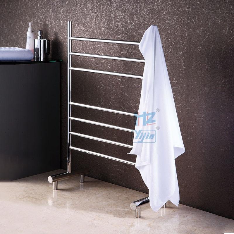 Wholesale Heated Towel Rail free standing  stainless steel electric towel warmer  HZ-922AS