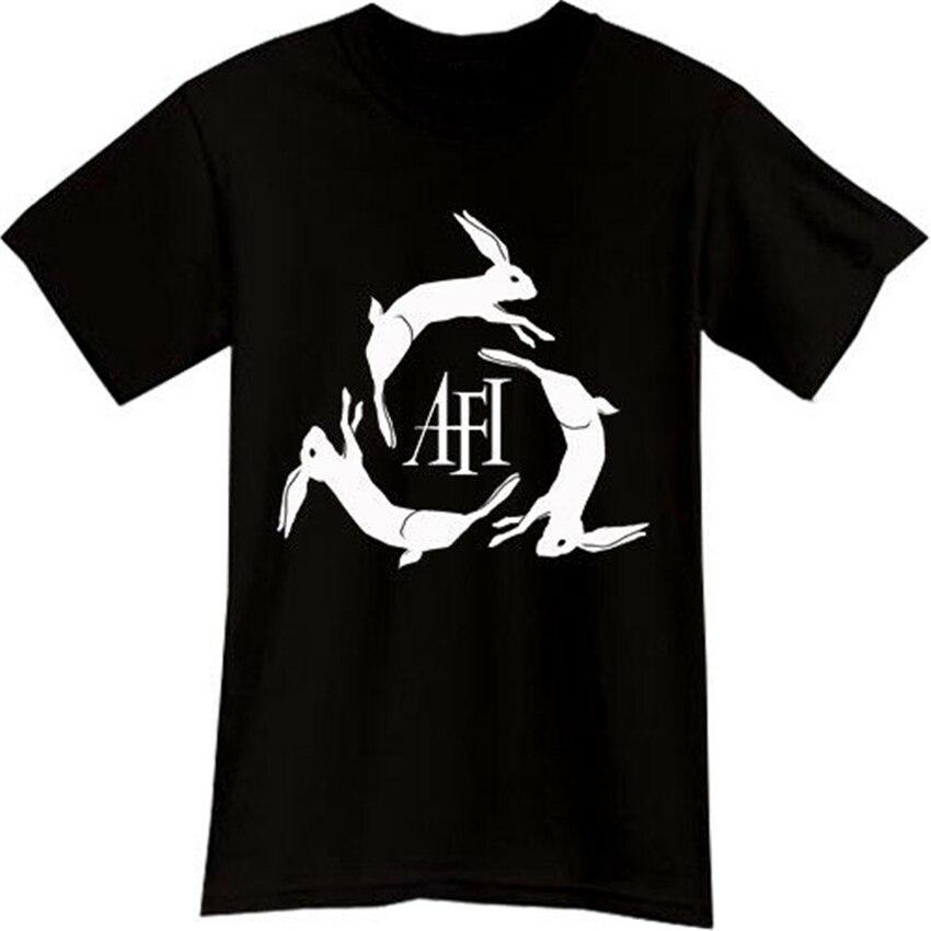 Nueva camiseta negra Afi Rock Band, Camiseta talla S M L Xl 2Xl 3Xl, camiseta Popular