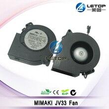 Original Printer Parts Black Plastic Fans For Mimaki JV33 Printer