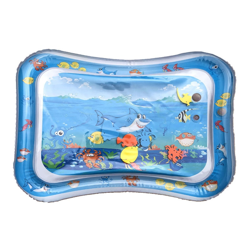 Kids Summer Baby Water Play Mat Tummy Time Inflatable Water Playmat Toddler Fun Avtivity Toys Newborns Sey Toys Seaworld Playmat seinabo sey seinabo sey pretend 2 lp