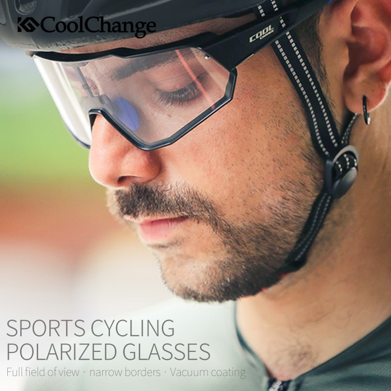 CoolChange Photochromic Cycling Glasses Running Outdoor Sports MTB Bike Sunglasses UV400 Men Women Road Bicycle Goggles Eyewear 2021 all the new cycling sunglasses men women uv400 sport mountain road bike glasses mtb running fishing goggles bicycle eyewear