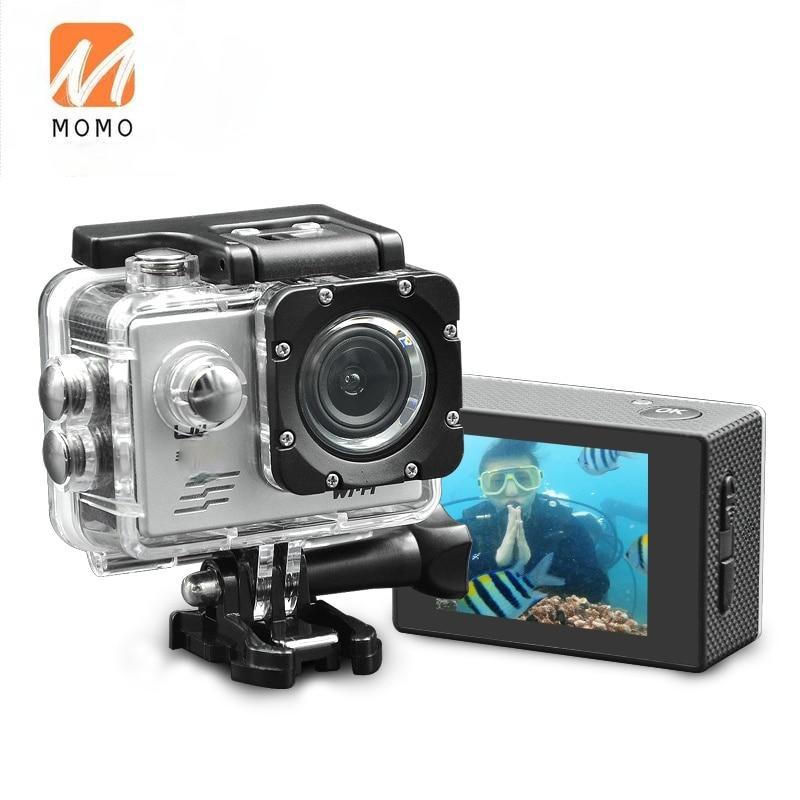 Sj9000 4k عمل كاميرا واي فاي 30M مقاوم للماء الرياضة DV