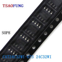 5Pieces CAT24C32WI-GT3 24C32WI SOP8 Integrated Circuits Electronic Components