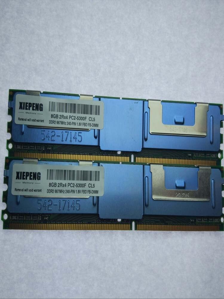 Dell Precision 690 R5400 490 T5400 T7400 Server memory 16GB DDR2 ECC Fully Buffered RAM 8GB 667MHz FB-DIMM 4GB PC2-5300F DIMM