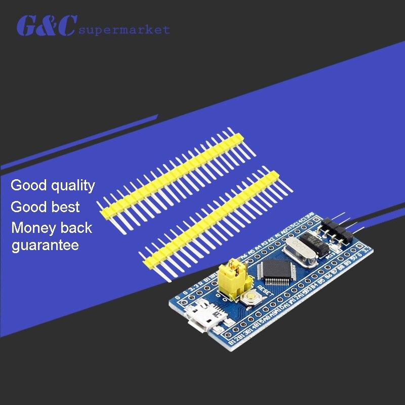 1 Uds STM32F103C8T6 ARM STM32 Módulo de placa de desarrollo de sistema mínimo para arduino diy electronics