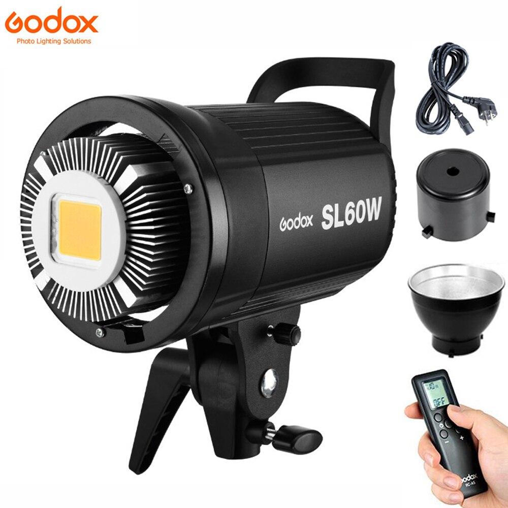Godox LED Video Licht SL-60W SL60W 5600K Weiß Version Video Licht Kontinuierliche Licht Bowens Halterung für Studio Video Aufnahme