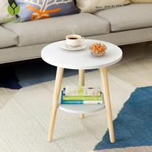Nordic Style Mini Coffee Table Desk Modern Minimalist Tea Table Creative Round Table Wood Table For Home Living Room Office