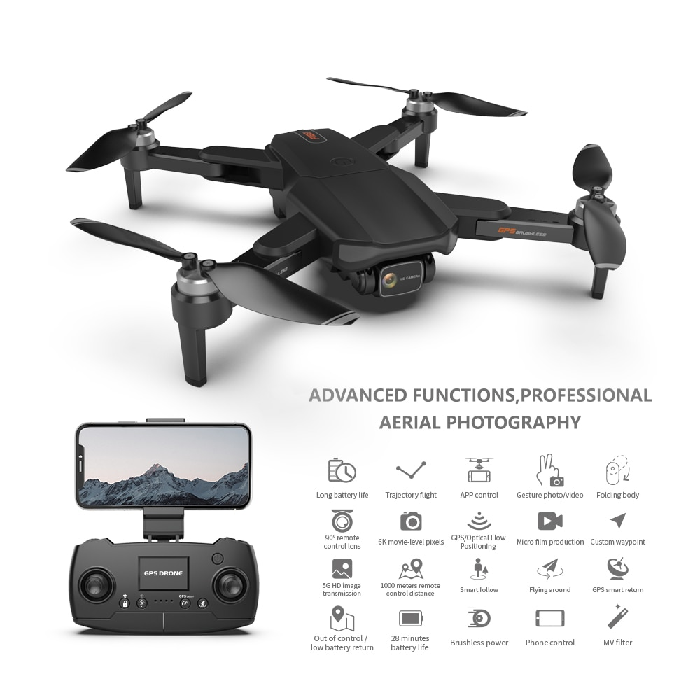 TYRC F188 New Drone 6K HD Dual Camera Professional Motor 5G Wifi Aerial Photography Rc Dron Quadcopter Gift Toy enlarge