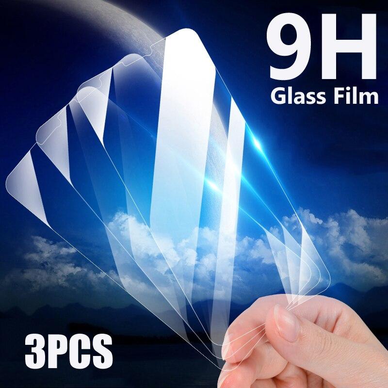 3 uds vidrio templado para Xiaomi Redmi Note 4 4X 5 5A Pro pantalla cristal Protector en Redmi 6 6A 7A 4X 5A 5 Plus S2 película de vidrio caso