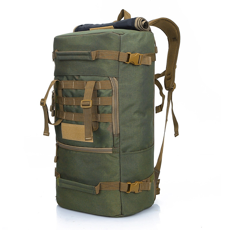 Caliente de alta calidad 50L nueva mochila táctica militar bolsas de Camping bolsa de Montañismo mochila de senderismo para hombre mochila de viaje