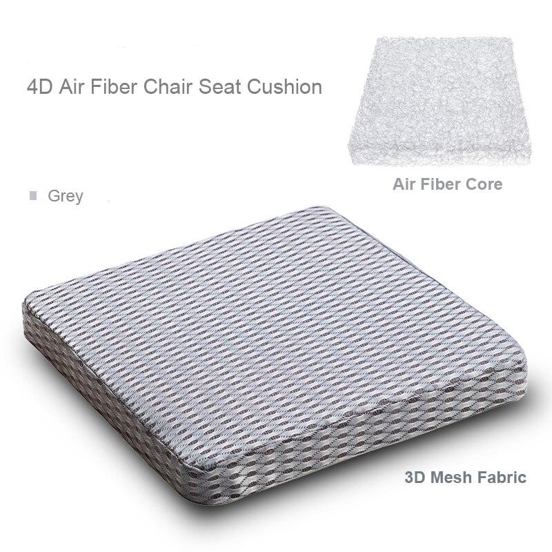 Janpan estilo 4D fibra aire cojín silla cojín asiento cojín para el hogar Oficina Coche decoración lujo silla asiento cojín