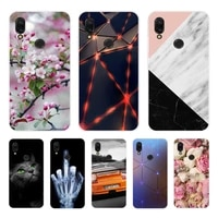 funda for xiaomi redmi note 7 case redminote 7 black silicone soft phone case redmi 7 7a back cover for xiaomi redmi 8a case 8 a