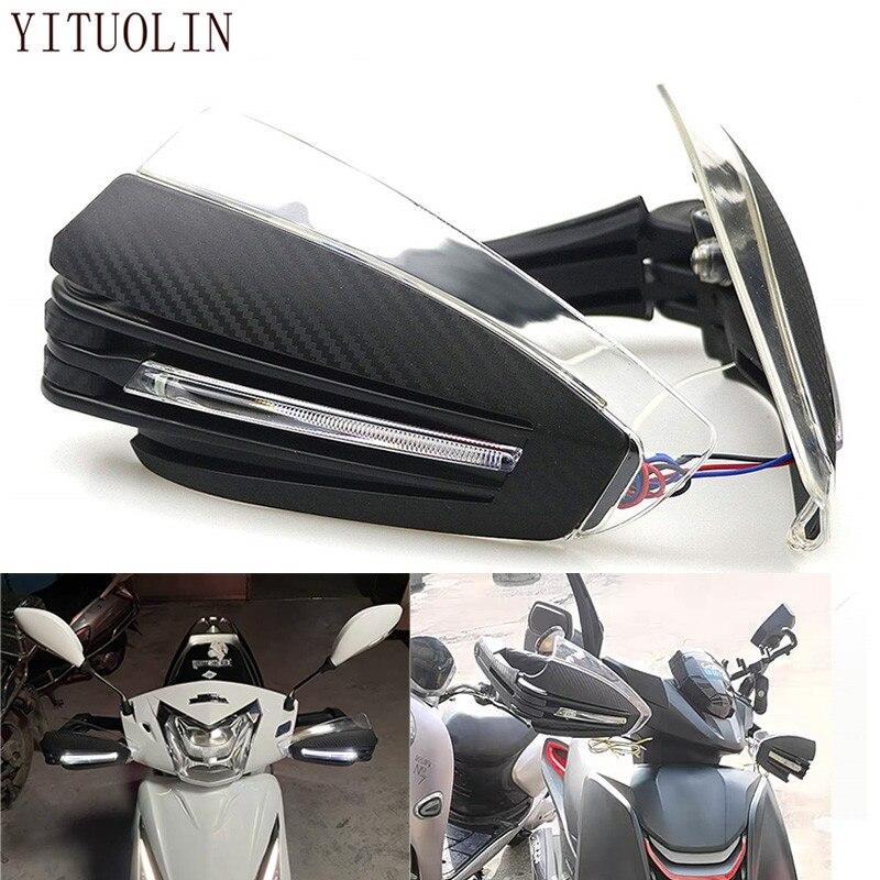 واقي واقي لليد للدراجة النارية هوندا إنتيجرا 750 الظل VT750 CBR1100XX المتمردين 250 SH 300 CBR 600F NC 750X NC750X