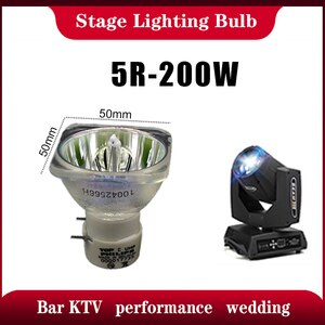 High Quality 200W 5R Lamp MSD Platinum For Beam Sharpy Moving Head Beam Light Bulb Stage Light wholesale