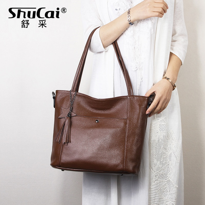genuine leather womens fashion shoulder bags for women 2019 luxury handbags women bags designer