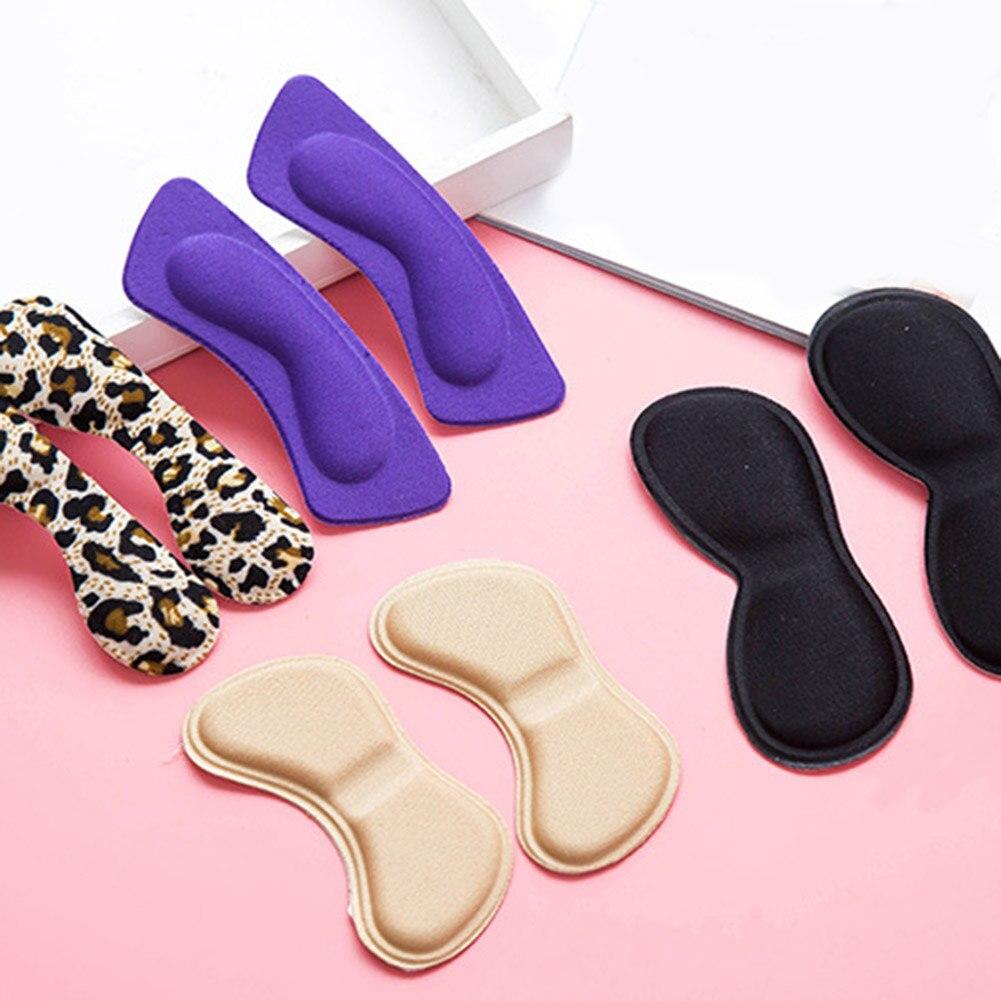 Mode 2 stücke Praktische Klebrigen Stoff Schuhe Zurück Ferse Einsätze Einlegesohlen Pads Kissen Liner Grips Hohe Qualität Hosenträger & Unterstützt