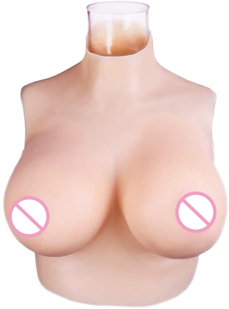 Realistic Silicone Breast Plate False Breast Mastectomy Prosthesis for Crossdressers Transgender Costumes Transgender Queens