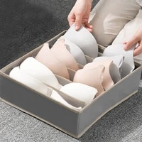 multi size foldable storage boxes underwear closet drawer divider closet organizer storage box for ties socks bra bedroom