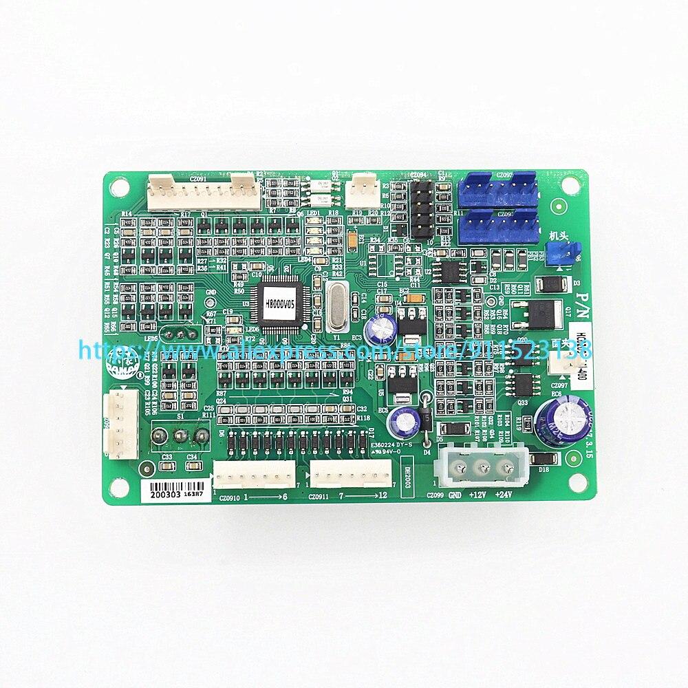 Feiya ZGM هينا ريكوما CAMFive الصينية التطريز قطع غيار الماكينات Dahao لوحة إلكترونية رئيس بطاقة HC0209B(04)-400